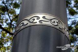 Diseño de poste de la lámpara