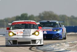La Porsche 911 GT3RS n°79 du J-3 Racing (Justin Jackson, Brian Cunningham, Tim Sugden)