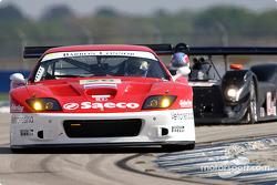 La Ferrari 575 GTC n°26 du Barron Connor Racing (Jean-Denis Deletraz, Mike Hezemans, Ange Barde)