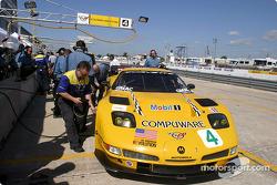 La Corvette C5-R n°4 du Corvette Racing (Oliver Gavin, Olivier Beretta, Jan Magnussen)