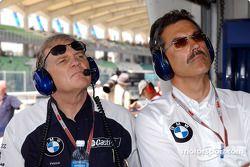 Patrick Head y Dr Mario Theissen