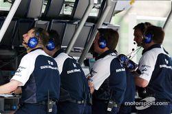 Williams-BMW miembros del equipo