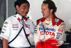 Keizo Takahashi y Cristiano da Matta