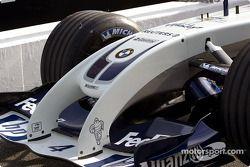 Le nez de la Williams-BMW