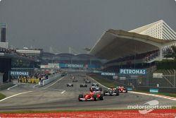 Vuelta de formación: Michael Schumacher