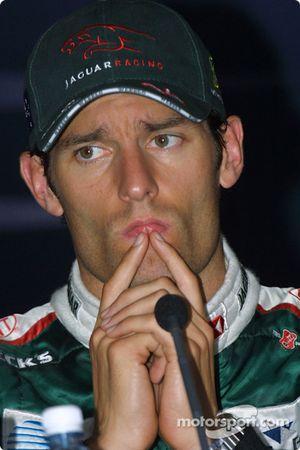 Conferencia de prensa: Mark Webber