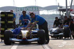Miembros del equipo Renault