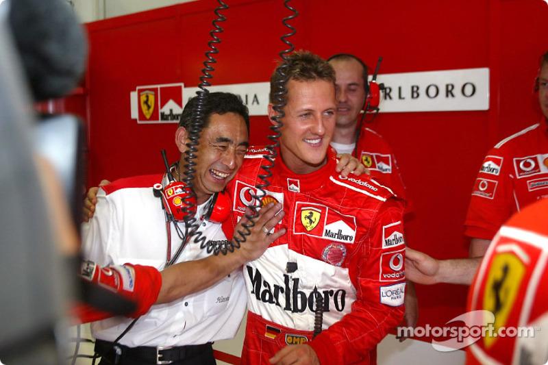 #57 GP de Malaisie 2004 (Ferrari F2004)
