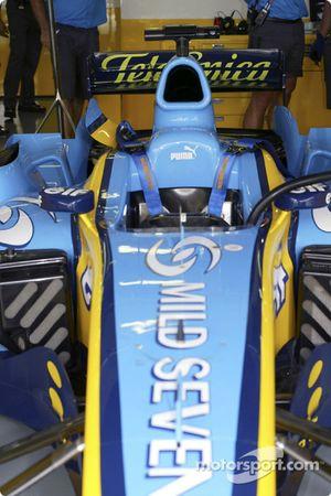 Renault pit área