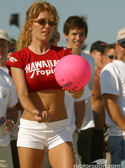 Match de volley Hawaiian Tropic