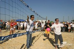 Hawaiian Tropic volleyball match: more controversy