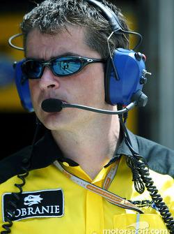 Jordan Takım Menajeri Tim Edwards