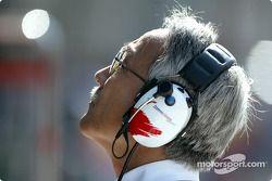 Tsutomu Tomita, director del equipo Panasonic Toyota Racing