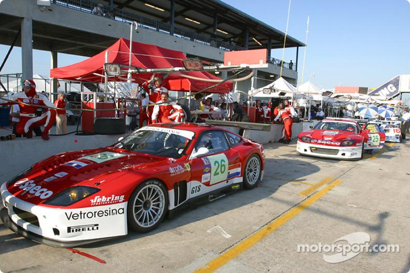26 Barron Connor Racing Ferrari 575 Gtc Jean Denis Deletraz Mike