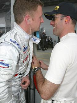 Allan McNish et David Brabham