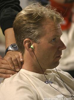 Un massage pour JJ Letho