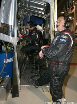 Le Team Principal d'Audi Sport UK Sam Li