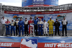 IPS Pre-race driver introductions