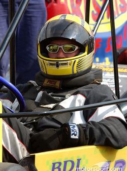 #12-Brad Madden waits on Briggs Senior Champ's grid