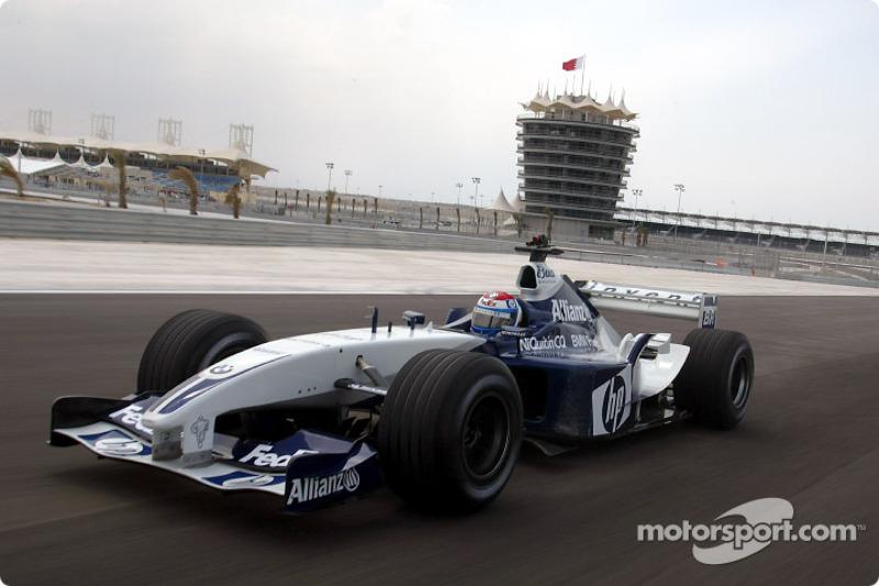 Marc Gene, Williams BMW around Bahrain International Circuit