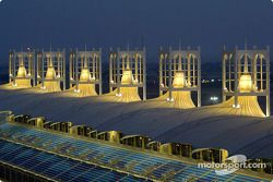 Le Bahrain International Circuit de nuit
