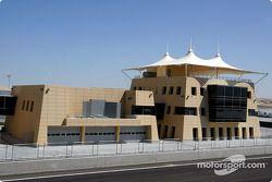 Edificio de control de la carrera