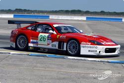 #26 Barron Connor Racing Ferrari 575 GTC: Jean-Denis Deletraz, Mike Hezemans, Ange Barde