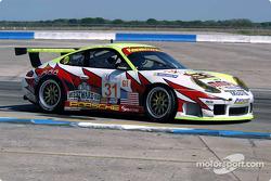 La Porsche 911 GT3RS n°31 du White Lightning/Petersen Motorsports (Michael Petersen, David Murry, Craig Stanton)