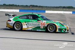 La Porsche 911 GT3RSR n°66 de l'équipe The Racer's Group (Kelly Collins, Cort Wagner, Patrick Long)