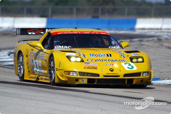 La Chevrolet Corvette C5-R n°3 du Corvette Racing (Ron Fellows, Johnny O'Connell, Max Papis)