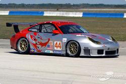La Porsche 911 GT3RS n°44 du Flying Lizard Motorsports (Lonnie Pechnik, Seth Neiman, Peter Cunningham)