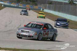 L'Audi S4 n°04 du Istook/Aines Motorsport Group (Anders Hainer, Don Istook)
