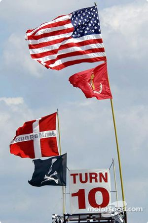 Flags at Turn 10