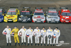 Die Mercedes-Fahrer 2004: Stefan Mücke, Jarek Janis, Bernd Mayländer, Markus Winkelhock, Bernd Schne