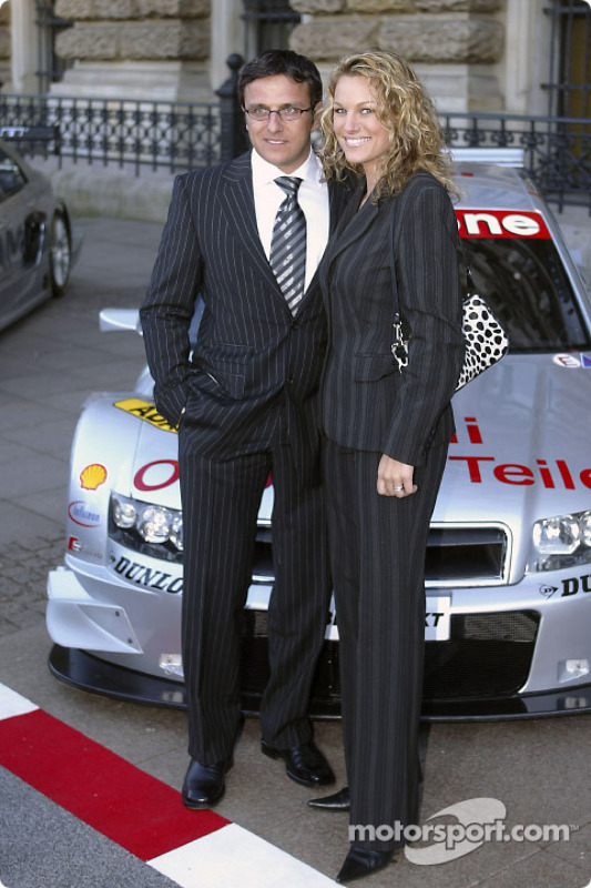 Christian Abt and Christina Surer