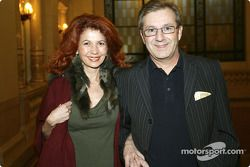 Jan Hofer mit seiner Frau