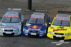 Die Audi-DTM-Autos 2004