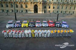 Les pilotes du DTM et leurs voitures