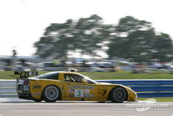 La Chevrolet Corvette C5-R n°3 du Corvette Racing (Ron Fellows, Johnny O'Connell, Max Papis)