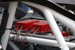 Les systèmes électriques sont maintenant installés sur le tableau de bord