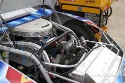 Le moteur d'une NASCAR