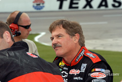 Terry Labonte checks the board