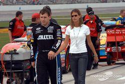 Ryan Newman et sa femme