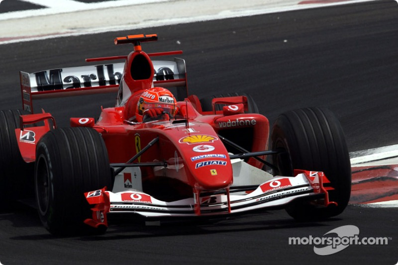 Michael Schumacher - 307 Grand Prix: 3.70 ortalama