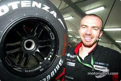 Photoshoot Bridgestone pour Bas Leinders