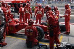 Pitstop Michael Schumacher