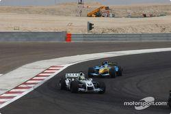 Ralf Schumacher y Jarno Trulli