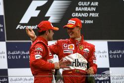 Podium: 1. Michael Schumacher, Ferrari; 2. Rubens Barrichello, Ferrari