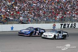 Rusty Wallace y Ryan Newman