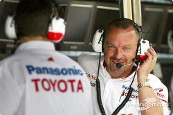 Mike Gascoyne, director técnico de chasis de Toyota Racing